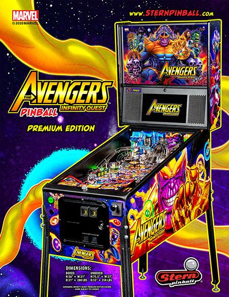 Avengers Infinity Quest Premium Flyer