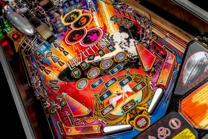 Pinball Led Zeppelin Pro